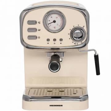 Espressor Heinner HEM-1100CR, 1100 W, 15 Bar, 1.25 L, Crem