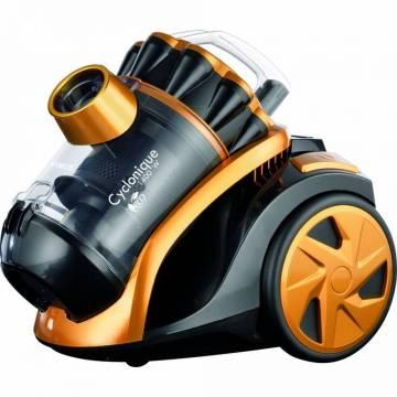 Aspirator Samus Cyclonique Eco-Power, Putere motor 900W, Putere de absorbtie 200W, Filtru HEPA, Auriu