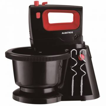 Mixer Cu Vas Albatros MXA300B, 300 W, 5 Viteze, Functie Turbo