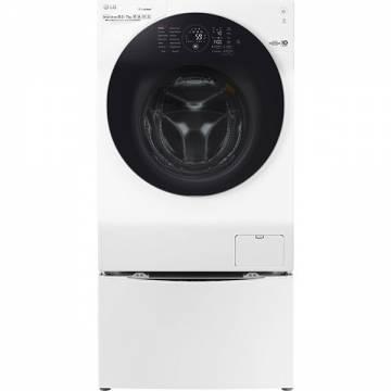 Masina de spalat rufe cu uscator LG TWIN F4WD127TWIN, 10.5/7kg, 1400rpm, A, alb