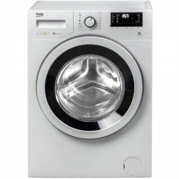 Masina de spalat rufe Slim Beko WRE6632ZWBW, 6 kg, 1200 RPM, Clasa A+++, Display LED, Alb