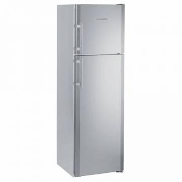 Frigider cu doua usi Liebherr Premium CTNesf 3663, 310 l, Clasa A++, DuoCooling, Congelator NoFrost, H 191. cm, Argintiu