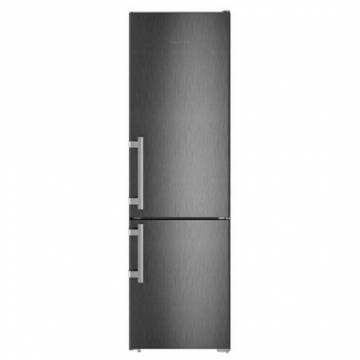 Combina frigorifica Liebherr CNbs 4015, 356 l, Clasa A++, No Frost, Touch control, Duo Cooling, H 201 cm, Negru