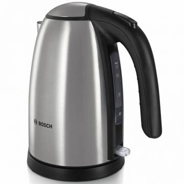 Fierbator Bosch TWK7801 2200W, 1.7l, Argintiu