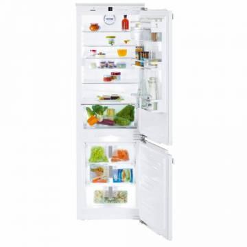 Combina frigorifica incorporabila Liebherr ICNd 5123, Congelator NoFrost, 255 L, A++, Alb