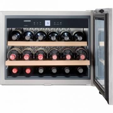 Vitrina de vin incorporabil Liebherr WKEes 553, 47 L, Clasa A, LED