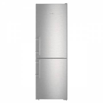 Combina frigorifica Liebherr CNef 3515, clasa A++, 308 L, Argintiu