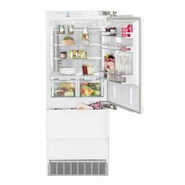 Combina frigorifica incorporabila Liebherr Premium ECBN 5066, Clasa A++, 379 l, BioFresh, Congelator NoFrost, Latime 75 cm, LED