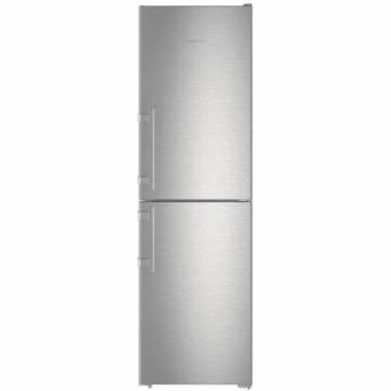 Combina frigorifica Liebherr Cnef 3915, 340 l, Clasa A++, VarioFrost, Touch Control, H 201 cm, Inox