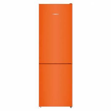 Combina frigorifica Liebherr CNno 4313, 304 l, Clasa A++, No Frost, H 186 cm, Orange