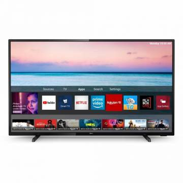 Televizor LED Smart Philips, 108 cm, 43PUS6504/12, 4K Ultra HD