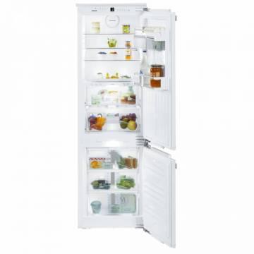 Combina frigorifica incorporabila Liebherr ICBN 3376, 238 L, BioFresh, NoFrost, DuoCooling, Clasa A++, Alb