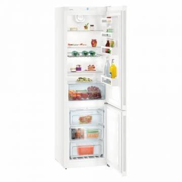 Combina frigorifica Liebherr CN 4813, A++, 338 L, Congelator No Frost, H 201.1 cm, Alb