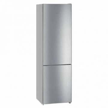 Combina frigorifica Liebherr CNel 4813, 338 L, Congelator NoFrost, DuoCooling, A++, Argintiu