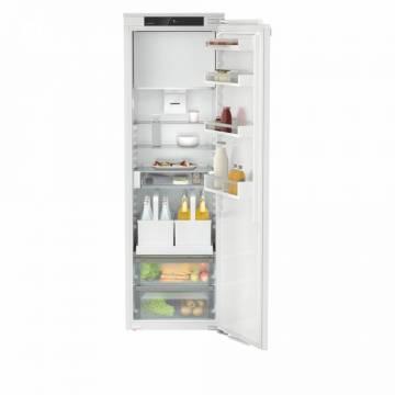 Combina frigorifica incorporabila Liebherr IRDe 5121, 286 L, Proces de dezghetare automat, GlassLine, Iluminare interior LED, Clasa E, Alb