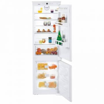 Combina frigorifica incorporabila Liebherr ICNS 3324, 256 L, SuperFrost, BioCool, NoFrost, Led, Clasa A++, Alb