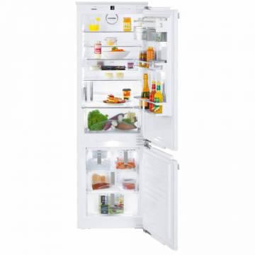 Combina frigorifica incorporabila Liebherr ICBNd 5153, 248 L, SuperFrost, BioCool, VarioBox, Congelator NoFrost, A++, Alb