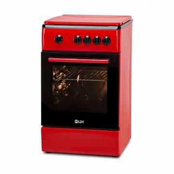 Aragaz LDK 5060 RED RMV LPG, 4 Arzatoare, Capac metalic, Siguranta, 50x60 cm, 3 Ani garantie, Rosu