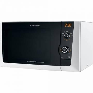 Cuptor cu microunde Electrolux EMS21400W, 18.5 l, 800 W, Grill, Alb