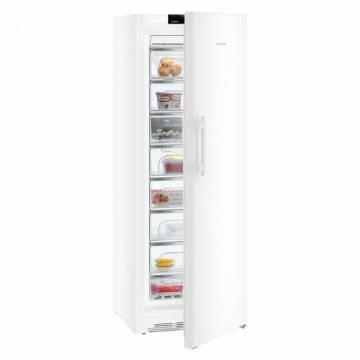 Congelator Liebherr GN 5275, 360 L, No Frost, Control electronic, Display, Alarma usa, Iluminare LED, 8 sertare, H 195 cm, A+++, Alb