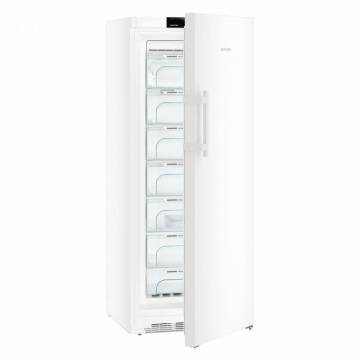 Congelator Liebherr GN 4635, 312 L, No Frost, Control electronic, Display, Alarma usa, Iluminare LED, 7 sertare, H 175 cm, A+++, Alb