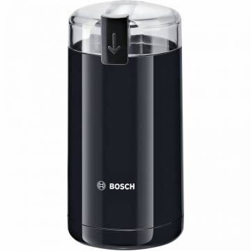 Rasnita de cafea Bosch TSM6A013B, 180 W, 75 g, cutit otel inoxidabil, Negru
