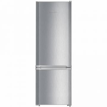 Combina frigorifica Liebherr CUel 2831, 265 l, SmartFrost, VarioSpace, Clasa A++, H 161.2 cm, Inox
