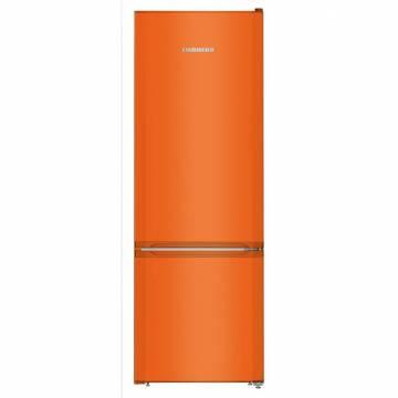 Combina frigorifica Liebherr Comfort CUno 2831, 265 l, Clasa A++, Congelator SmartFrost, Variospace, H 161.2 cm, Portocaliu