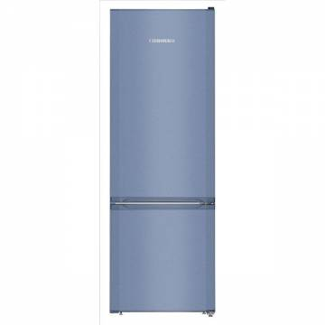 Combina frigorifica Liebherr Comfort CUfb 2831, 265 l, Clasa A++, Congelator SmartFrost, Variospace, H 161.2 cm, Albastru