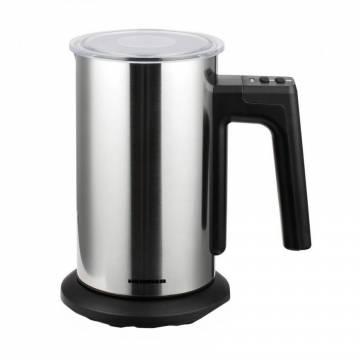 Aparat de spumat lapte Heinner HMFR-150SS, spumare: 150ml, incalzire: 300ml, dispozitiv spumare detasabil, auto-oprire, Inox