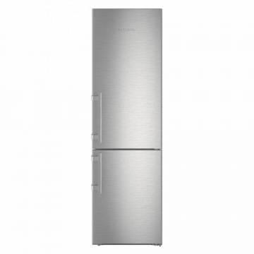 Combina frigorifica Liebherr CNef 4845, 356 L, No Frost, Display, Control electronic, IceMaker, Raft sticle, SuperCool, HolidayMode, H 201 cm, A+++, Argintiu