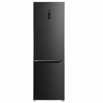 Combina frigorifica Toshiba GR-RB308WE-DMJ, 295 L, NoFrost, A++, Control electronic cu display Touch pe usa, Tehnologie AlloyCooling, zona ZeroCooling, design Morandi Gray