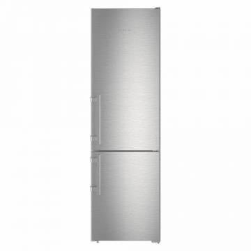 Combina frigorifica Liebherr CNef 4005, 356 L, No Frost, Display, Control touch, Alarma usa, H 201.1 cm, A++, Argintiu