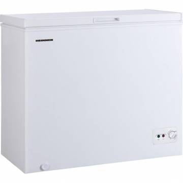 Lada frigorifica Heinner HCF-M200CA+, 198 l, Clasa A+, Sistem Convertibil Frigider/Congelator, Control mecanic, Winter Protection, Alb