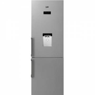 Combina frigorifica Beko RCNA400E21DZXP, 351 l, Clasa A+, NeoFrost, Dozator apa, H 201 cm, Inox Antiamprenta