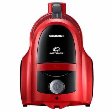 Aspirator fara sac Samsung VCC45T0S3R, 1.3 l, 750 W, Air Track, Tub telescopic, Rosu