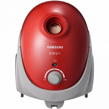 Aspirator cu sac Samsung VCC52U6V3R/BOL, 750W, 2.5l, perie aspirare 2 pasi, variator putere, Rosu