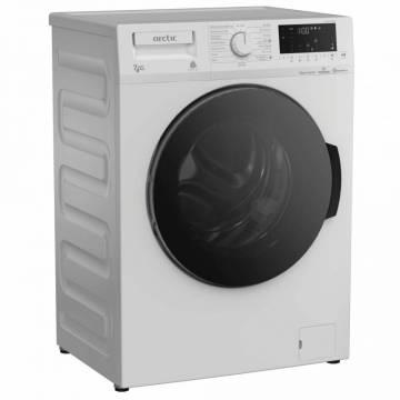 Masina de spalat rufe cu uscator Arctic APLWD74126WST, 7 kg/4 kg, 1200 rpm, ExtraSteam, HomeWhiz (Bluetooth), Child Lock, Display digital, Motor Silent Inverter, Clasa B, Alb