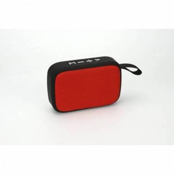 Boxa portabila Akai ABTS-MS89R cu BT, USB, TF card , Radio FM, Rosu