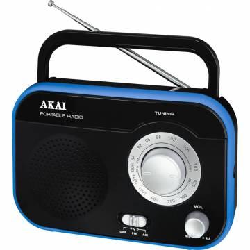 Radio portabil Akai PR003A-410, Negru