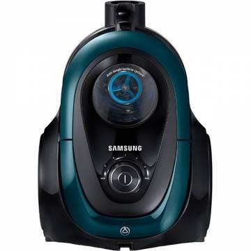 Aspirator fara sac Samsung VC07M21A0VN, 1.5 l, 650 W, Tub telescopic, Anti-tangle Cyclone, Verde