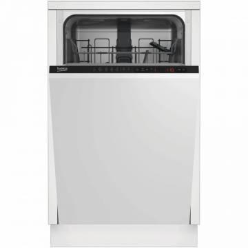 Masina de spalat vase incorporabila Beko DIS25010, 10 seturi, 5 programe, Clasa A+, 45 cm