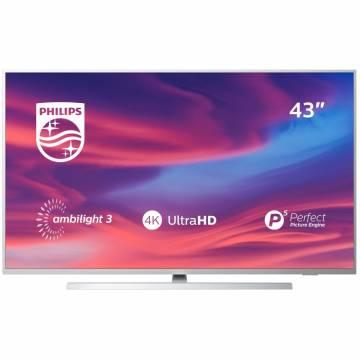 Televizor LED Smart Android Philips, 108 cm, 43PUS7304/12, 4K Ultra HD