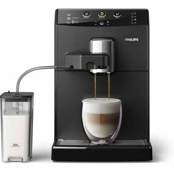 Espressor automat Philips HD8829/09, 1850W, Sistem automat Easy Cappuccino, Rasnite ceramice, Boiler incalzire rapida, 15 bar, 1.8 l, Negru