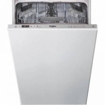Masina de spalat vase incorporabila Whirlpool WSIC 3M17, 10 seturi, 6 programe, 6th Sense, A+, 45 cm