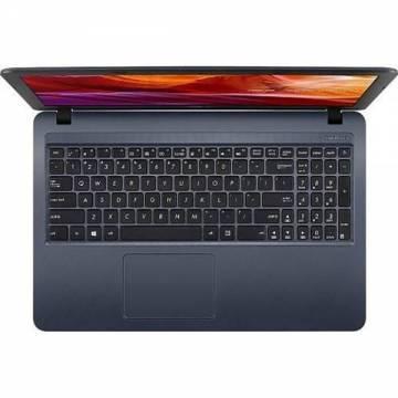 Laptop ASUS X543MA-GQ593 cu procesor Intel® Celeron® N4000 pana la 2.60 GHz, 15.6 inch, HD, 4GB, 500GB HDD, Intel UHD Graphics 600, fara sistem de operare, Gri