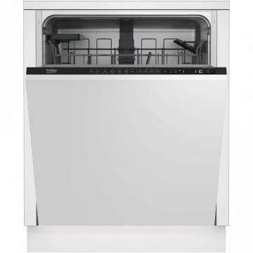 Masina de spalat vase incorporabila Beko DIN26421, 14 seturi, 6 programe, Motor ProSmart Inverter, Fast+, cos tacamuri flexibil, Clasa A++, 60 cm