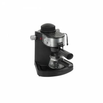Espresor cafea HB 3715 Hausberg, 4 cesti, 650 W, Negru
