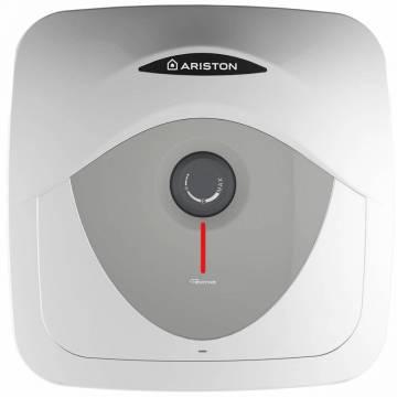 Boiler electric Ariston Andris RS 30 EU, 30 l, 1500 W, Led iluminat, Protectie electrica IPX1, Montare deasupra chiuvetei, Reglaj extern de temperatura