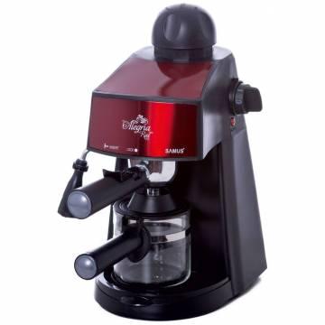 Espressor Samus Espressor Samus Alegria-RED, 3.5 bar, 800 W, Rosu / Negru